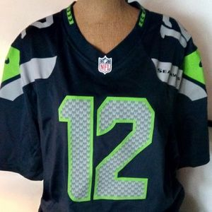 Women's 12th Fan Seattle Seahawks Xl Jersey